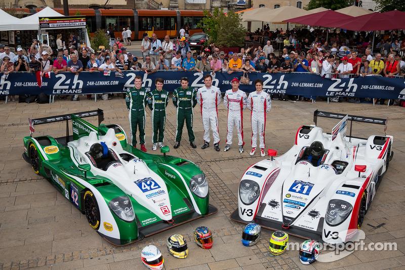 #41 Greaves Motorsport Zytek Z11SN - 日产: 鲁多夫·努内曼, 亚历山德罗·拉蒂夫, 詹姆斯·温斯洛; #42 卡特汉姆 Racing Zytek Z11SN - 日产: 汤姆·金博-史密斯, 克里斯·戴森, 马修·麦克穆里