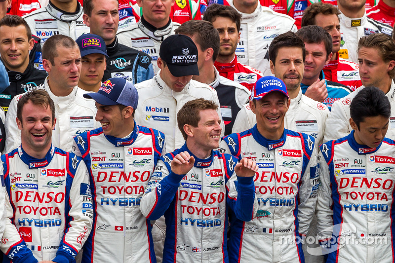 Drivers of the 2014 24 Hours of Le Mans