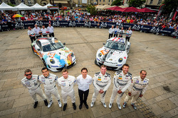 #79 Prospeed Competition 保时捷 911 GT3 RSR (997): 库珀·麦克尼尔, 布雷特·库尔蒂斯, 杰伦·布勒克莫伦, #75 Prospeed Competitio