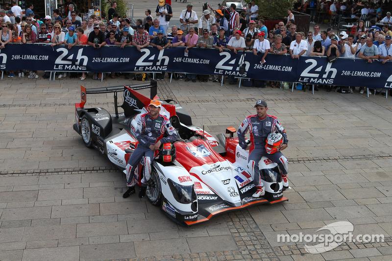 #24 塞巴斯蒂安·勒布 Racing Oreca 03 - 日产: 雷内·拉斯特, 扬·哈劳兹, 维森特·卡皮莱尔