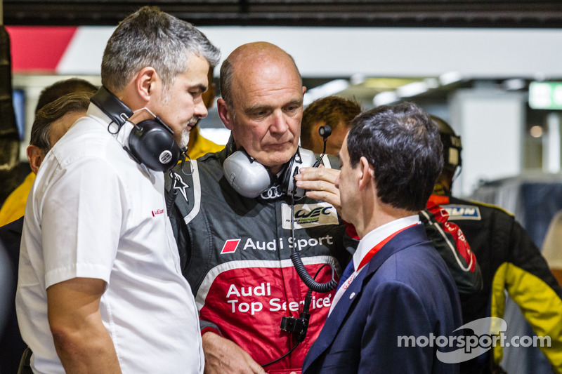 Dieter Gass, Dr. Wolfgang Ullrich and Pierre Fillon