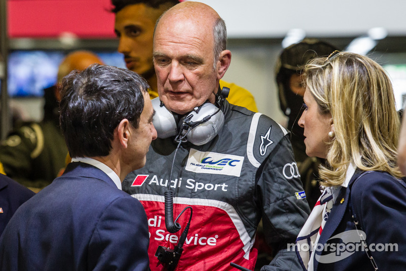 Dr. Wolfgang Ullrich and Pierre Fillon