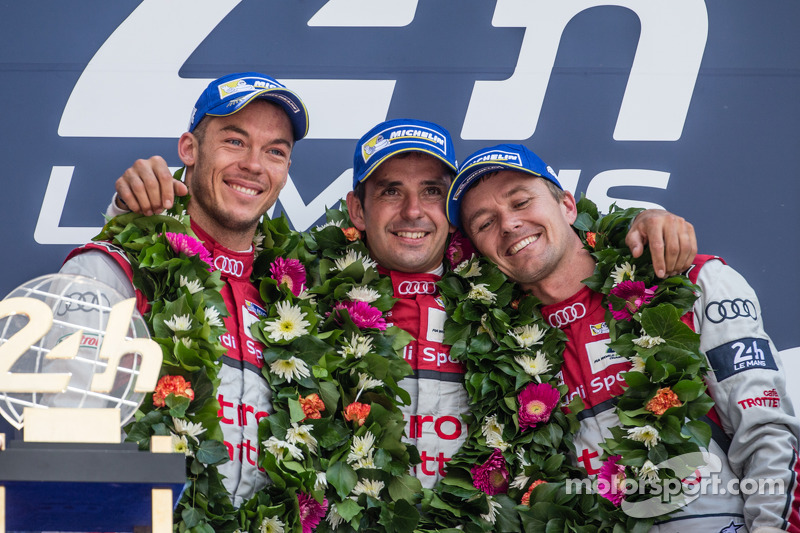 2014: Marcel Fässler, Andre Lotterer, Benoit Tréluyer