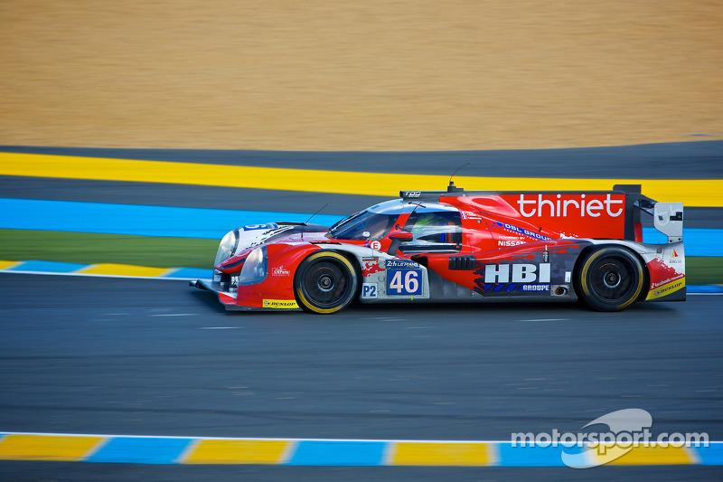 #46 Thiriet by TDS Racing Ligier JS P-日产: 皮埃尔·蒂里耶, 路德维奇·巴代, 特里斯坦·戈蒙迪