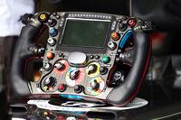 索伯C33赛车方向盘