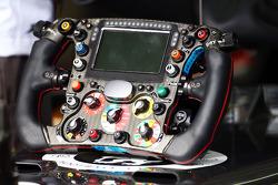 Sauber C33 steering wheel