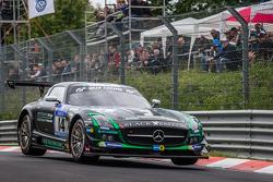 #14 Black Falcon Mercedes-Benz SLS AMG GT3: Abdulaziz Al Faisal, Hubert Haupt, Adam Christodoulou, Yelmer Buurman