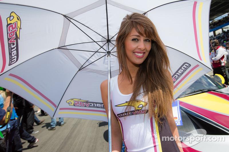 A Marc VDS Racing girl