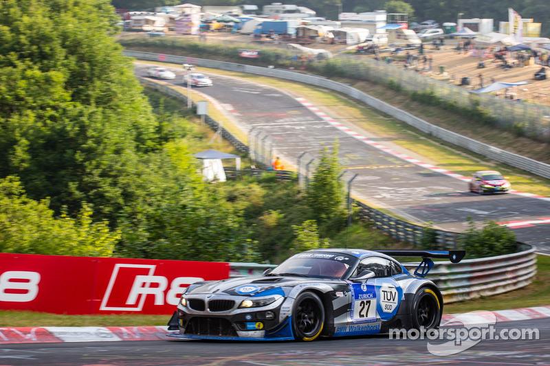 #27 Walkenhorst Motorsport BMW Z4 GT3: Ralf Oeverhaus, Henry Walkenhorst, Stefan Aust, Peter Posavac