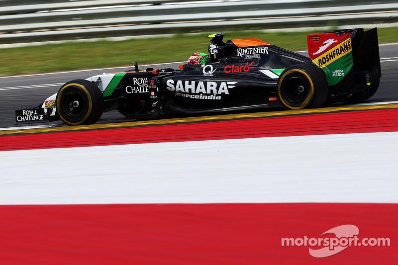 La tercera mejor vuelta, GP de Austria 2014
