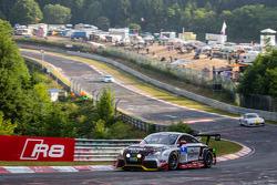 #111 Raeder Motorsport 奥迪 TT RS 2.0: Elmar Deegener, Jürgen Wohlfarth, Christoph Breuer, Dieter Schmidtmann