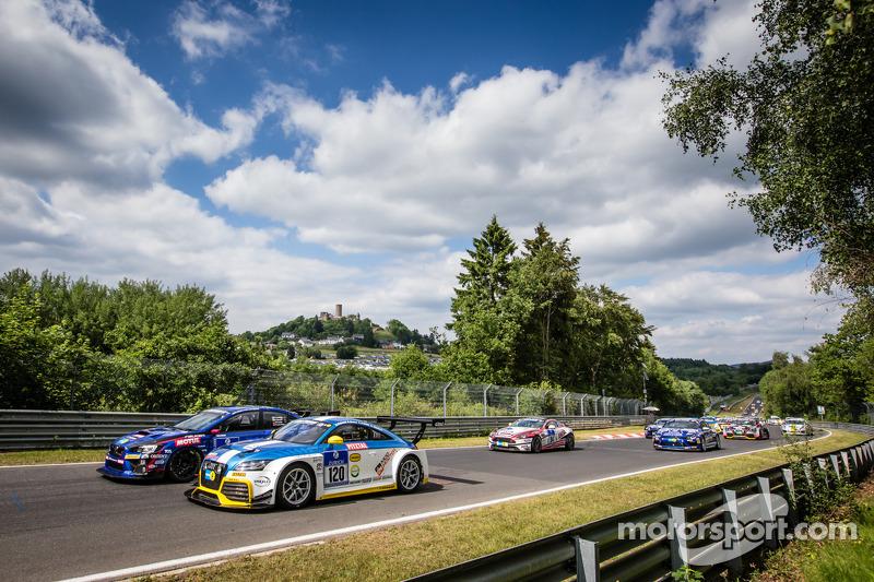 Via: #120 LMS Engineering Audi TT RS: Daniela Schmid, Christopher Tiger, Roland Botor, Constantin Kletzer