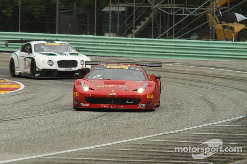 #16 R. Ferri Motorsport 法拉利 458 GT3 Italia: 尼克·曼库索