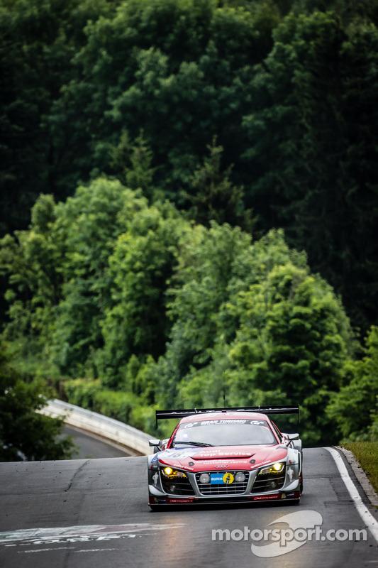 #18 奥迪 Race Experience 奥迪 R8 LMS ultra: 拉哈尔·弗莱, Christiaan Frankenhout, 多米尼克·巴斯蒂安, Christian Bollrath