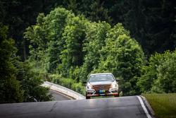 #186 Team AutoArena Motorsport Mercedes-Benz C 230: Patrick Assenheimer, Marc Marbach, Hannes Pfledderer