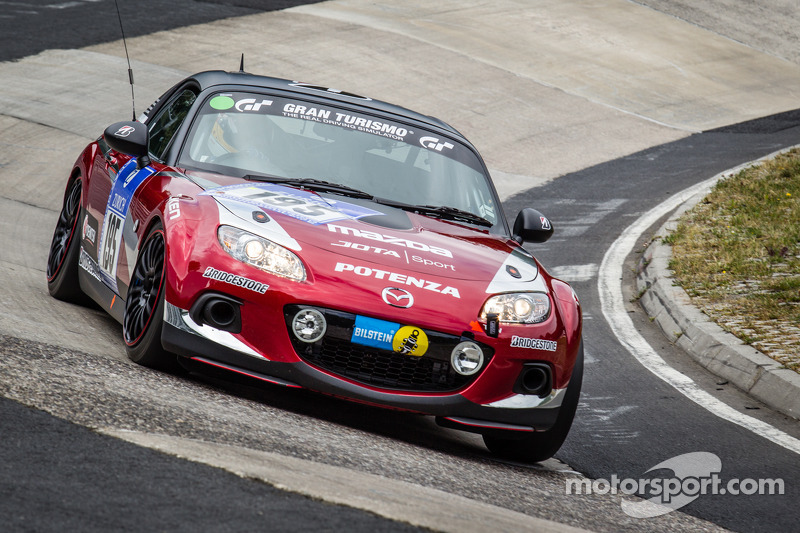 #195 马自达 Motorsports Team Jota 马自达 MX-5: 斯蒂芬·约翰森
