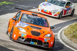 #121 Seat Leon Supercopa: Philippe Salini, Stéphane Salini, Tristan Gommendy