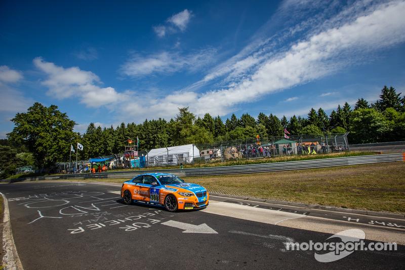 #308 Adrenalin Motorsport 宝马 M235i Racing: Daniel Zils, Norbert Fischer, Uwe Ebertz, Timo Schupp