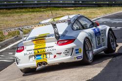 #58 Black Falcon Porsche 911 GT3 Cup: Willi Friedrichs, Burkard Kaiser, Andreas Ziegler