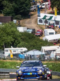 #205 Mathilda Racing Volkswagen Scirocco GT-24: Michael Paatz, Klaus Niedzwiedz, Johannes Stuck, Wolfgang Haugg