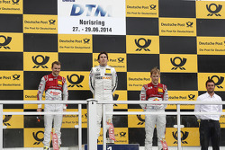 Podyum, İkinci Jamie Green, Audi Sport Takımı Abt Sportsline Audi RS 5 DTM, 1. sıra Robert Wickens,
