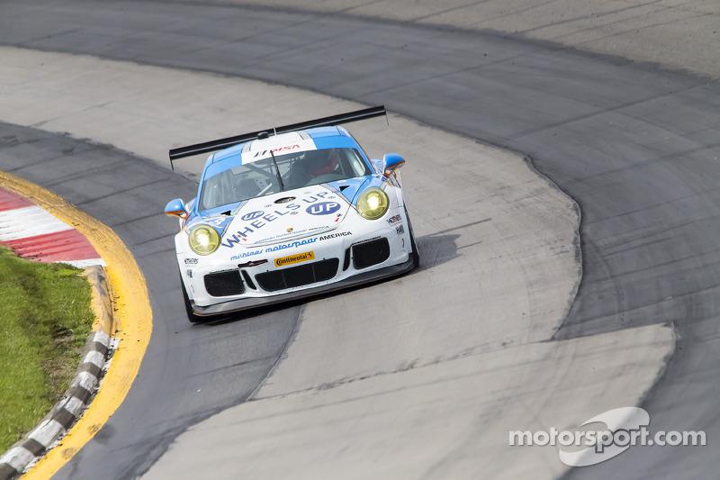#18 Muehlner Motorsports America Porsche 911 GT America: Peter Ludwig, David Calvert-Jones, Patrick-Otto Madsen