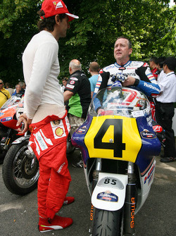 Pedro de la Rosa and Freddie Spencer