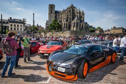 Supercars display: Bugatti Veyron