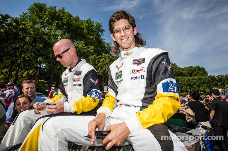 Jan Magnussen e Jordan Taylor