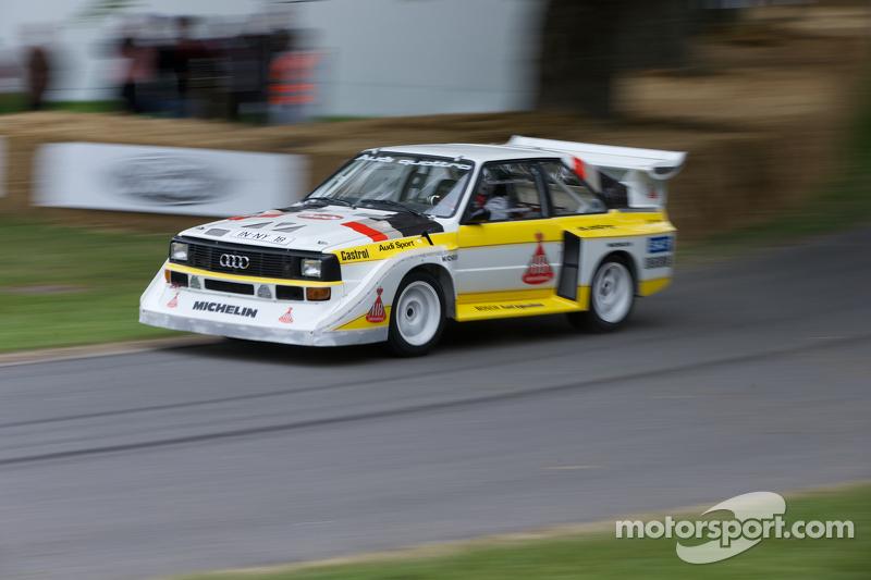 1985 Audi Sport Quattro S1 E2 Hannu Mikkola At Goodwood Festival
