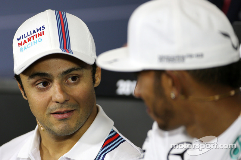 Felipe Massa, Williams F1 Team during the press conference