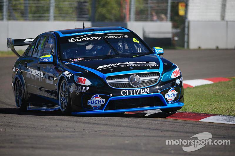 Lee Holdsworth, Erbus Racing Mercedes