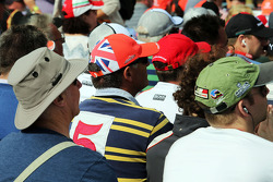 A Jenson Button, McLaren fan