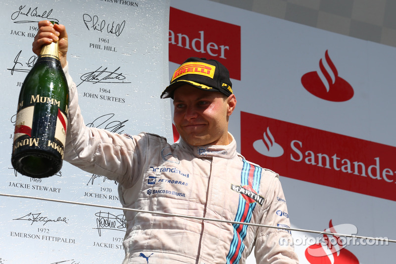 2nd place Valtteri Bottas, Williams FW36