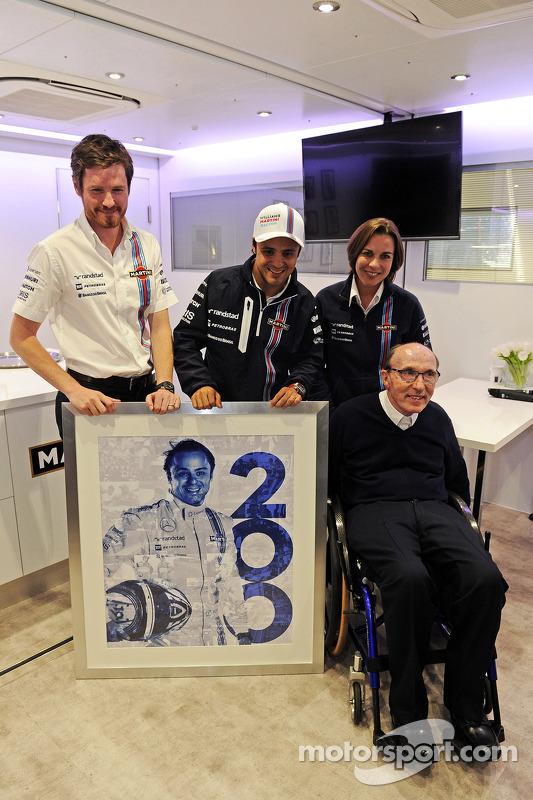 2014 – 200-й старт Феліпе Масси у Ф1
