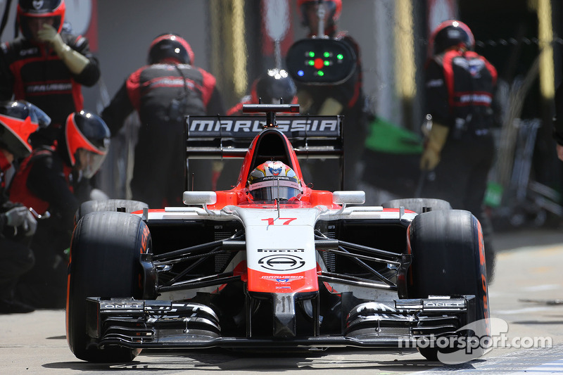 Boxenstopp: Jules Bianchi, Marussia F1 Team