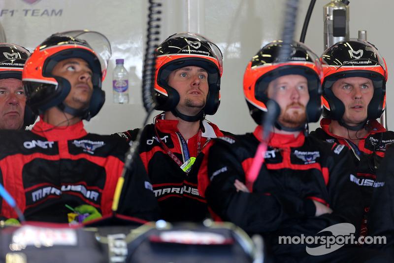 Machaniker, Marussia F1 Team
