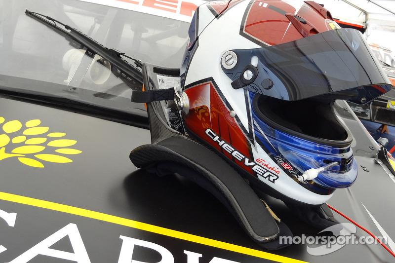 Eddie Cheever III helmet
