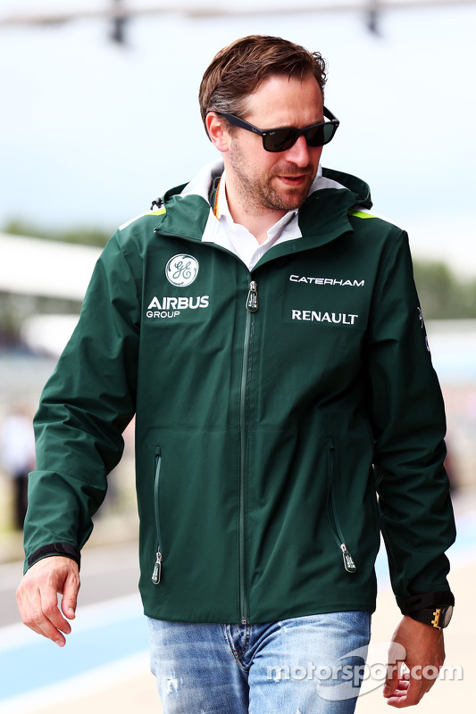Christian Albers, Caterham F1 Takımı, Takım Menajeri