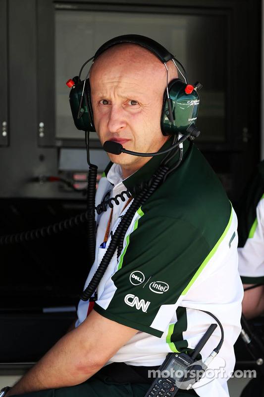 Miodrag Kotur, Caterham F1 Team, chefe de equipe