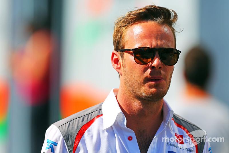 Giedo van der Garde, Piloto de pruebas de Sauber