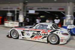 #90 AAI-RSTRDA Mercedes SLS AMG GT3: Yu Lam, Takeshi Tsuchiya