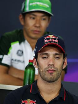 Jean-Eric Vergne, Scuderia Toro Rosso FIA Basın Konferansı'nda