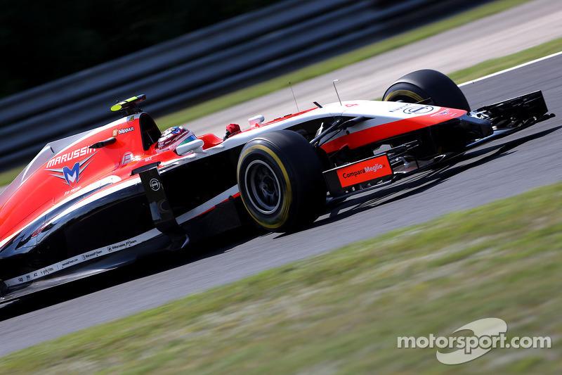 Max Chilton , Marussia F1 Team