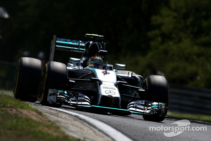 Nico Rosberg , Mercedes AMG F1 Team