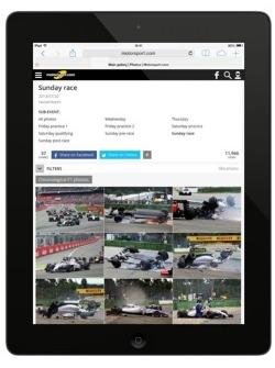 Анонс пятого поколения сайта Motorsport.com