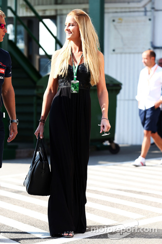 Petra Silander, Freundin von Jean-Eric Vergne, Scuderia Toro Rosso