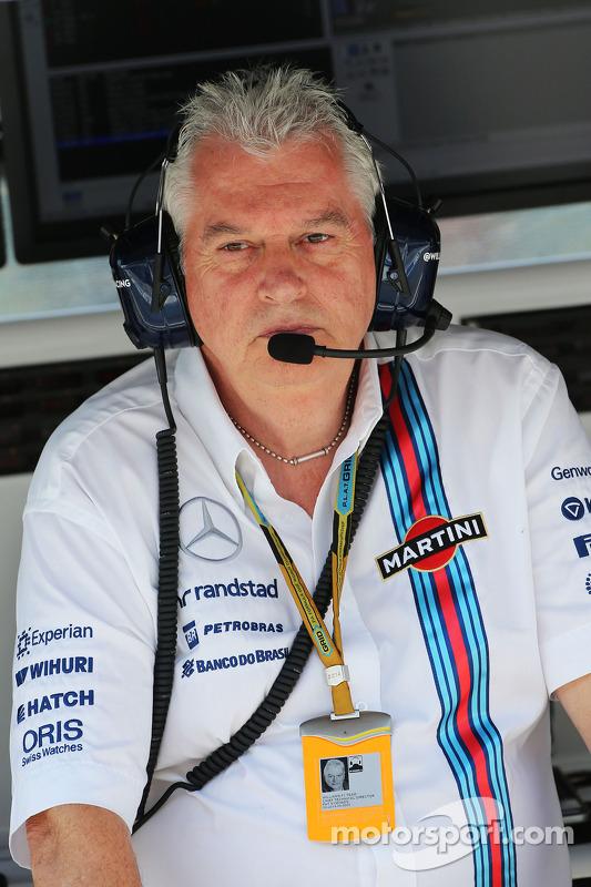 Pat Symonds, diretor técnico da Williams