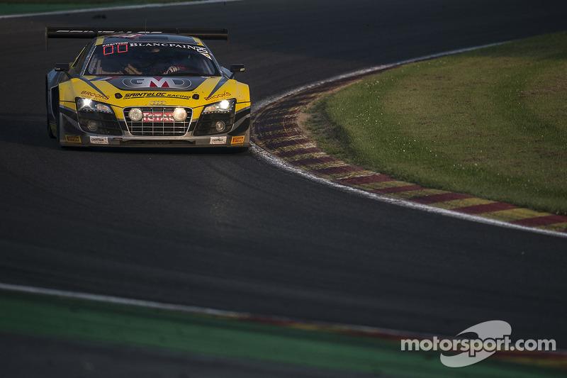 #25 Saintéloc Racing Audi R8 LMS ultra: Jean-Paul Buffin, Claude-Yves Gosselin, Philippe Haezebrouck