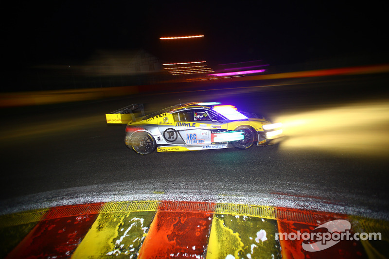 #26 Saintéloc Racing Audi R8 LMS ultra: Grégory Guilvert, Stéphane Ortelli, Edward Sandström